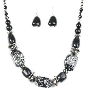In Good Glazes Black Necklaces
